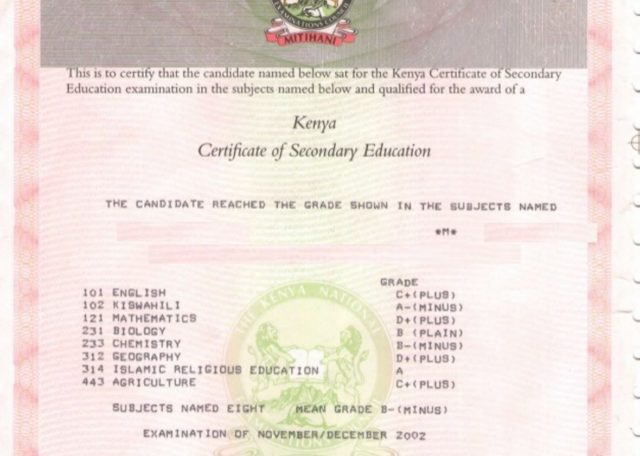 Steps to Replace Lost KCSE, KCPE or any KNEC Certificates in 2 Months