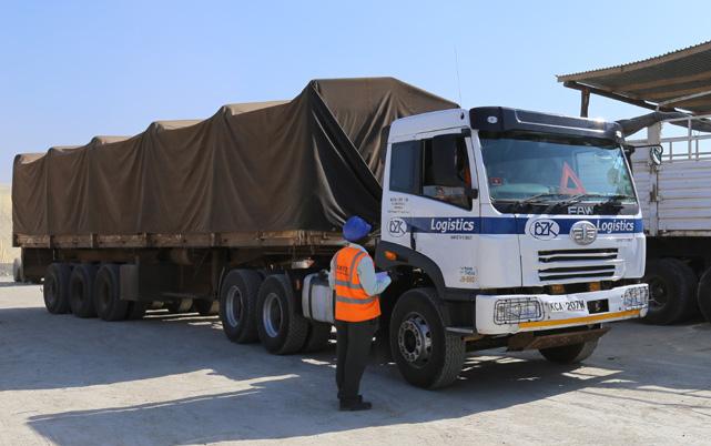 Buzeki truck