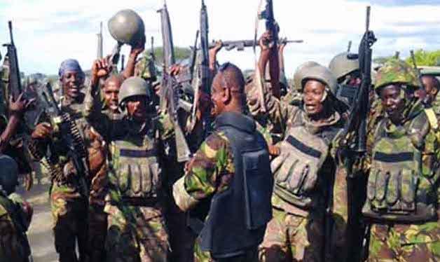 kenya defense forces, kdf salary scales