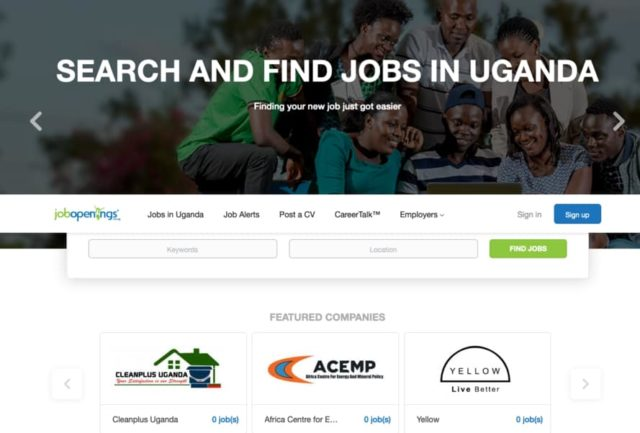 Top 10 Best Free Job Websites in Uganda 2020/2021