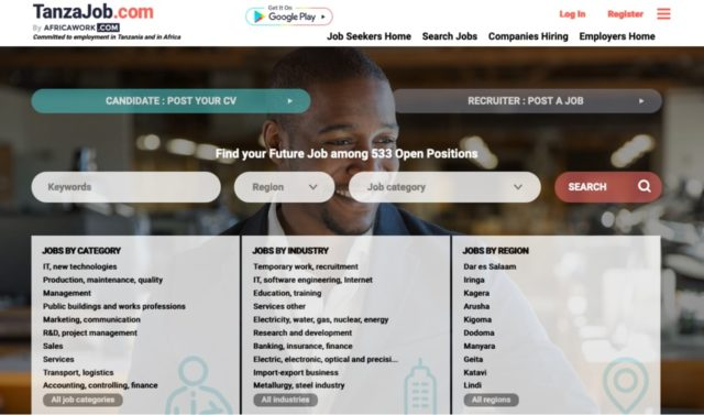 Top 10 Best and Free Job Websites in Tanzania 2020/2021