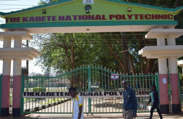 The Kabete National Polytechnic Fee Structure 2020/2021