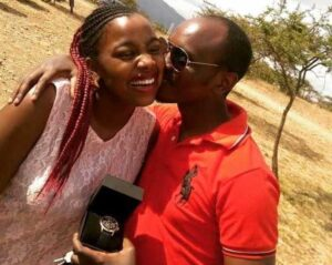 Jackie matubia, Nana of Zora Citizen TV with husband
