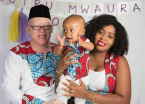 isaac mwaura wife and child