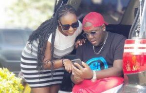 DJ Joe Mfalme and wife