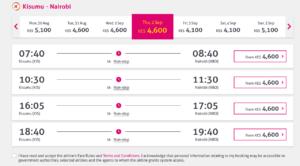 Jambojet Online Booking, How to Book Jambojet Plane Ticket Online